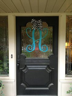 Single 20 inch Metal Wall Monogram that comes painted, or stained....feel free to message me for a custom color or faux finish. on Etsy, $54.00