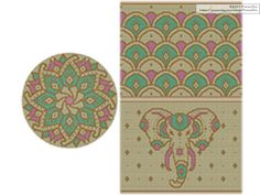 PATTERN:India Set of Wayuu Mochila Patterns Mochila Bag