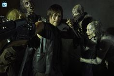 "The Walking Dead S5 Norman Reedus as ""Daryl Dixon"""