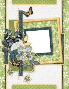 "Photo from album ""Butterflies and BlueJeans Bundle"" on Yandex. Scrapbook Borders, Borders And Frames, Views Album, Blue Jeans, Embellishments, Butterfly, Yandex Disk, Beautiful, Scrapbooking"