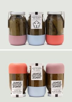 Cute idea for jam packaging.