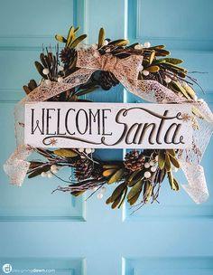 Diy Hanging Shelves, Diy Wall Shelves, Christmas Crafts, Christmas Decorations, Christmas Ideas, Holiday Ideas, Christmas Wreaths, Xmas, Christmas Centerpieces