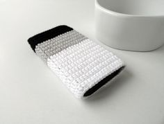 Black and White OMBRE iPhone 5S case Ombre Nexus 5 by PetiteLeRu, $15.50