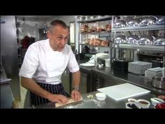 Michel Roux Jnr - Beaujolais Berry Jelly with Arlette Biscuits and Crème Anglaise - YouTube