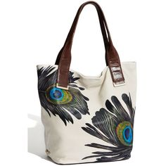Elliott Lucca 'Intreccio' Leather Tote: Oh, peacock! Peacock Purse, Summer Brown, Spring Purses, Lucca, Purses And Handbags, Tote Bag, Nordstrom, Outfit, My Style