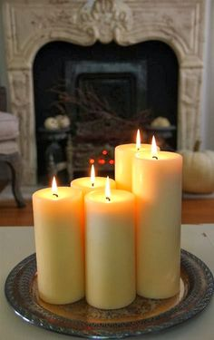 Castles Crowns and Cottages: An Echo Of The HolIDAY    CANDLES ADD AMBIENCE AND                    WARMTH