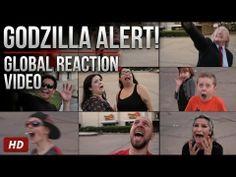#Godzilla Alert - Global Reaction Video #film