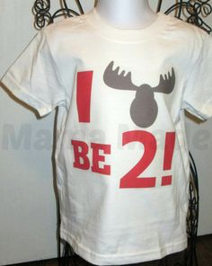I Moose be... ANY AGE Birthday Shirt or Bodysuit  by mamamadebows, $15.00+