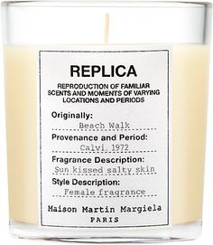 We Adore: The MMM Beach Walk Candle from Maison Margiela at Barneys New York
