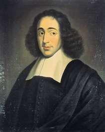 Baruch de Spinoza (hebräisch ברוך שפינוזה, portugiesisch Bento de Espinosa, latinisiert Benedictus de Spinoza; geboren am 24. November 1632 in Amsterdam; gestorben am 21. Februar 1677 in Den Haag) war ein niederländischer Philosoph und Sohn portugiesischer Immigranten sephardischer Herkunft und portugiesischer Muttersprache.[1] Er wird dem Rationalismus zugeordnet und gilt als einer der Begründer der modernen Bibelkritik sowie Religionskritik.