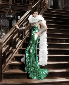 Kay Francis 1934 in Orry-Kelly gown in Mandalay Hollywood Gowns, Hollywood Costume, Old Hollywood Glamour, Hollywood Fashion, Golden Age Of Hollywood, Vintage Glamour, Vintage Hollywood, Hollywood Stars, Hollywood Actresses