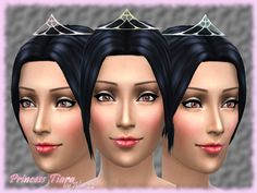 Is a new mesh, tiara/crown perfect for your magical moments, like weddings,coronations,formal occasions. It is found in Earrings. Comes in 6 colors. Found in TSR Category 'Sims 4 Female Earrings'