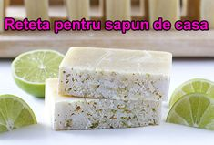 Gift the scent of summer with this DIY coconut-lime bar soap. Soap Making Recipes, Homemade Soap Recipes, Homemade Beauty, Diy Beauty, Clean Beauty, Beauty Ideas, Diy Soap Tutorial, Savon Soap, Lime Essential Oil