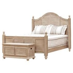 """J&M 344 -444 Bring cottage-chic appeal to your master suite or guest room with this lovely headboard, showcasing panel detailing and a warmly weathered finish.  Product: HeadboardConstruction Material: Solid wood, plywood, ash wood, and engineered woodColor: Warmly weatheredFeatures: Panel detailingDimensions: Queen: 61.5"""" H x 65.25"""" W x 3.25"""" DKing: 61.5"""" H x 81.25"""" W x 3.25"""" DCalifornia King: 61.5"""" H x 77.25"""" W x 3.25"""" D"""