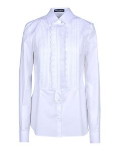 Dolce & Gabbana Pleated Bib Shirt