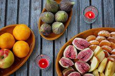 Feigen, Mandarinli, Äpfel - photography - food Ⓒ PASTELPIX