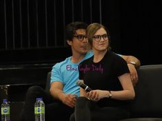 Bob and Eliza Morley🥰 The 100 Cast, It Cast, History Puns, The 100 Quotes, A Little Chaos, Bob Morley, Eliza Taylor, Bellarke, Family Album