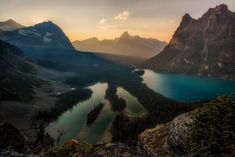 Probably the most scenic overlook I have ever been to. Opabin Prospect Lake O'Hara Yoho National Park [OC][2500x1669]