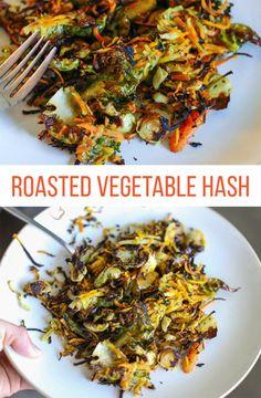 Roasted Vegetable Hash