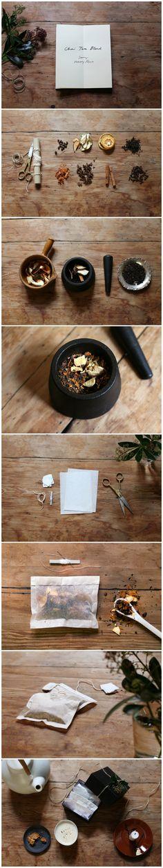Samuji Holiday Projects: Chai Tea Blend