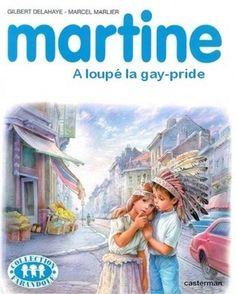 Top 27 des «Martine» détournées, le retour du come-back Martine, A loupe' la gay-pride, children playing  Indians