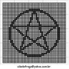 CROCHET FREE PATTERN PENTACLE | Original Patterns