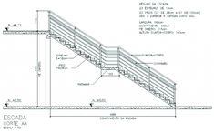 escada corte                                                       …