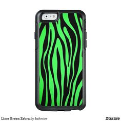 Lime Green Zebra Ott