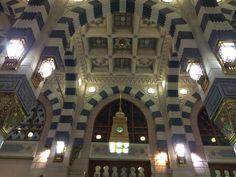 المسجد النبوي المدينة المنورة