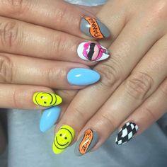 by Madeleine Studio, wyk. Patrycja :) Follow us on Pinterest. Find more inspiration at www.indigo-nails.com #nailart #nails #indigo #summer #smile #icon #babyblue #lips