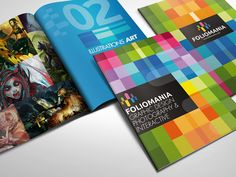 Foliomania // The design portfolio brochure on Behance