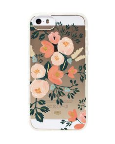 Rifle Paper + Paper Crown = Peach blossom iphone 6 case!