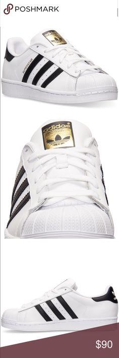 schwarze und weiße adidas superstar 10w adidas schuhe nie getragen.