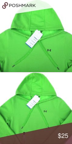 NWT Under Armour Green Hoodie Top Brand new with tags Under Armour green hoodie. Size Medium. Price is firm. Under Armour Tops
