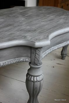 Paris gray with graphite wash