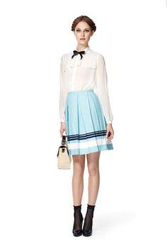 I love a pleated skirt. Jason Wu for Target $29.99