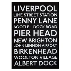 Liverpool Bus Blind Canvas