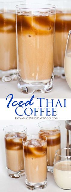 Iced Vanilla Thai Coffee with video recipe {Tatyana's Everyday Food}