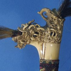 Mandau bakas 6 Borneo, Sword, Lion Sculpture, Objects, Statue, Art, Art Background, Kunst, Performing Arts