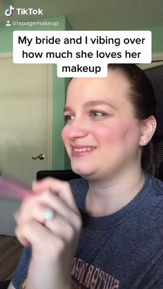 If my bride is happy, I'm happy! It's her day, so she gets the last say on how her makeup looks! | wedding makeup looks | tik tok videos funny | wedding makeup natural | bridal makeup natural Natural Wedding Makeup, Wedding Makeup Looks, Bridal Makeup, Natural Makeup, Super Funny Videos, Funny Short Videos, Stupid Funny, Funny Jokes, Funny Things