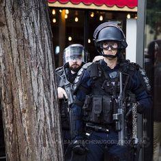 Policiers de Compagnies d'Intervention équipés de LBD en MO [Ref:1416-20-0084] #Policenationale #CRS #CI #CSI #casque #manifestation #MO #tireur