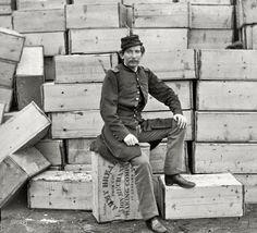 1863. Captain J.W. Forsyth