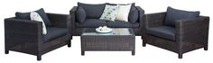 #OutdoorSofaSets - San Remo #SofaSet (2 Seater) - Segals Outdoor Furniture Outdoor Sofa Sets, Outdoor Furniture Sets, Outdoor Decor, Comfy Sofa, Relax, Lounge, San, Dining, Chair