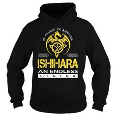 I Love ISHIHARA An Endless Legend (Dragon) - Last Name, Surname T-Shirt T shirts
