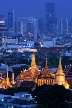 Grand Palace in Bangkok_ Thailand