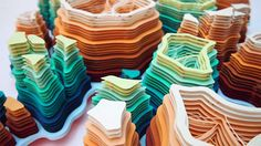 Stunning Shapes Handcrafted From Wafer Thin Paper By Charles Clary
