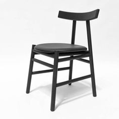 Ronin Dining Chair - Black Wood Back Reclaimed Wood Projects Signs, Barn Wood Projects, Solid Wood Kitchen Cabinets, Solid Wood Kitchens, Old Wood Ladder, Light Wood Texture, Cherry Wood Floors, Family Furniture, Traditional Cabinets