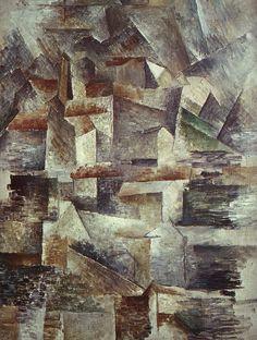 Georges Braque, Rio Tinto Factory at L Estaque, 1910