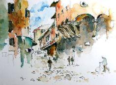 Judi Whitton watercolours
