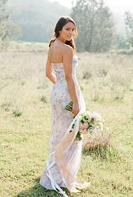 Plum Pretty Sugar  Couture. Ryan Gown.